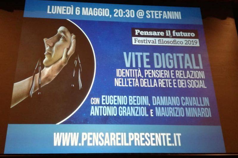 Vite digitali: intervento al Festival Filosofico di Treviso
