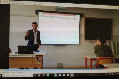 Freud e post-Freud – Lezione in una scuola superiore
