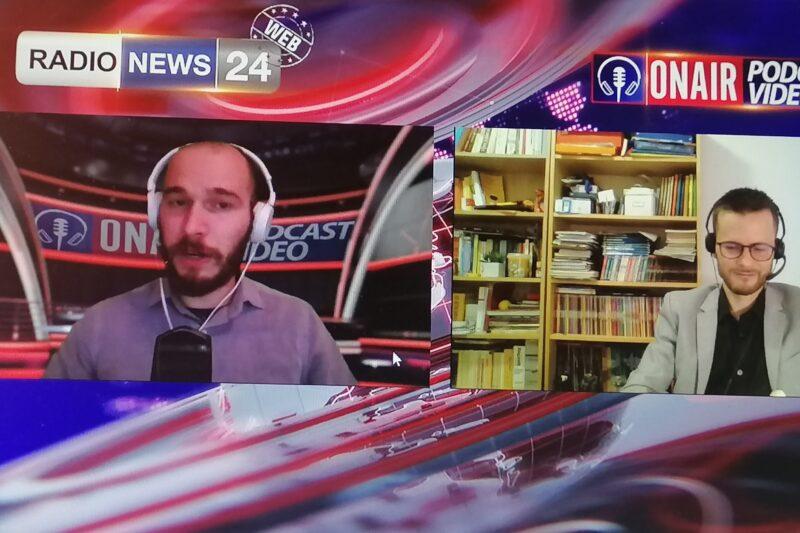 Intervista a RadioNews24: la psicologia e il Web