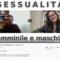 Sessualità maschile e femminile: il video dell'intervista